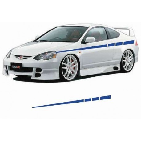 Tuning stripes as your car body sticker.