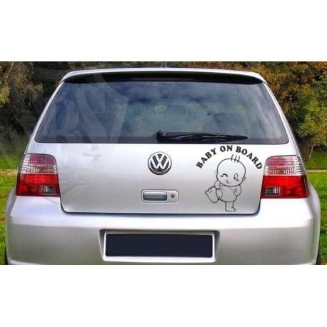Baby on board car decoration car sticker.