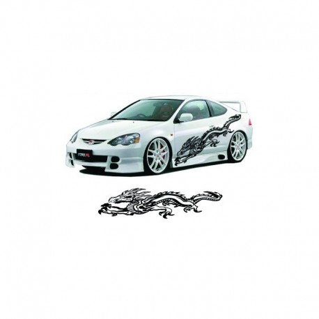 Chinese dragon as your car sticker.