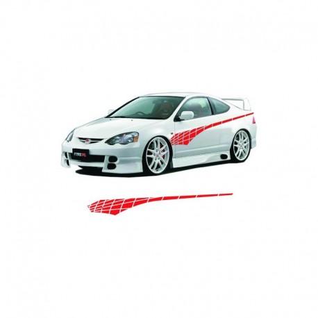 Tuning stripe car sticker, stripes car decals.