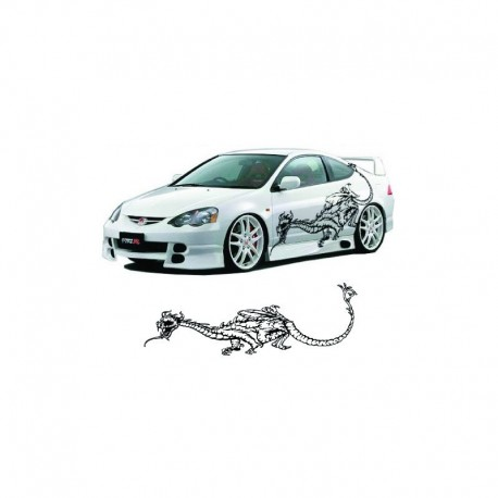 Chinese dragon as your car body sticker.