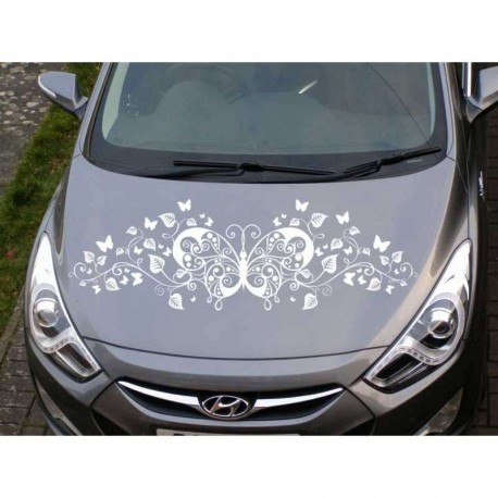 Butterfly vinyl car stickers, butterfly car decals.