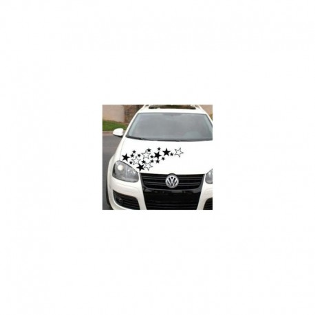 Stars pack for bike car graphic decal sticker x 20.