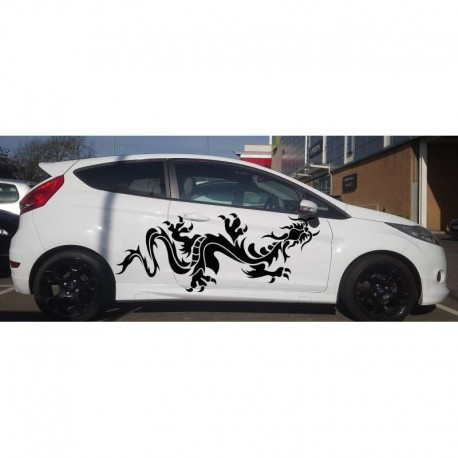 Giant dragon as your car doors sticker.