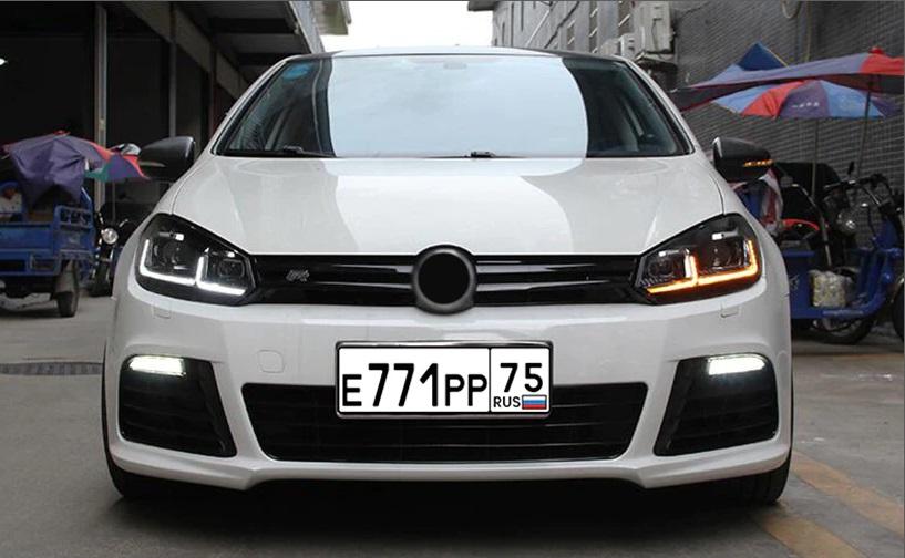 VW Golf 6 2009-2012 Led dynamic headlights.