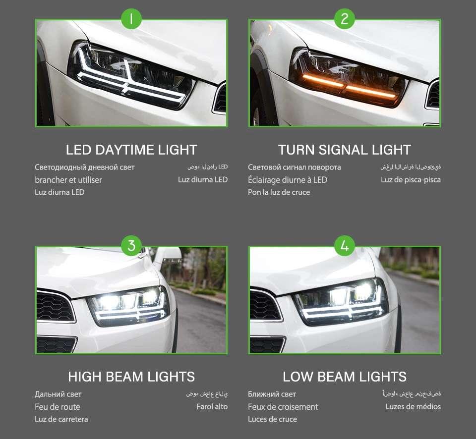 Chevrolet Captiva LED headlights 2011-2018