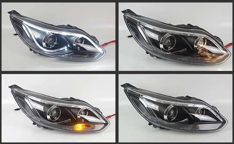 Ford Focus 3 LED headlights 2012-2014